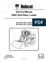 Bobcat S630 Service manual (taller , workshop)