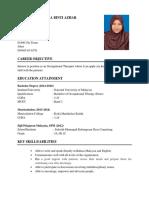 AIFAA'S CV