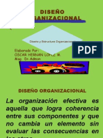 Diseño organizaciones