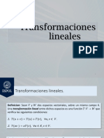 Clase_5 Transformaciones Lineales