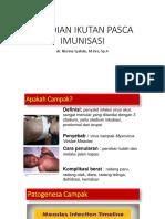 Kejadian Ikutan Pasca Imunisasi-mr