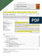 Baetens Et Al. - 2010 - Vacuum Insulation Panels for Building Applications