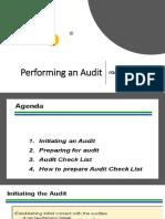 3.2 Performing an Audit Module 2