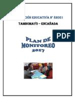 Plan de Monitoreo Docente 82051- 2017