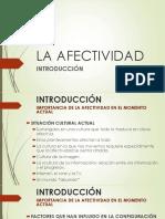 Opcional La Afectividad - 1 Introducción
