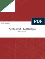 Forticlient Ems v1.2.0 Quickstart Guide