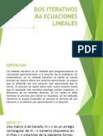Metodos Iterativos Para Ecuaciones Lineales1