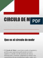 Circulo de Mohr