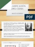 Clasificación Del Clima