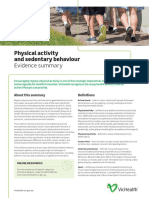 2016 Physical Activity and Sedentary Behaviour