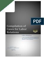 Labor Cases