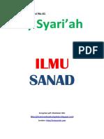 Kajian Utama Edisi 61 Majalah Asy-Syariah_Ilmu Sanad