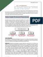 Data Link Protocols (DCS U-8 Notes)