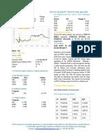 Market Update 18th July 2018