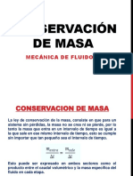 Conservación de Masa 2