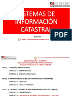 Sistemas de Información Catastral