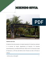 CONOCIENDO SIVIA