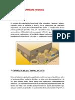 Metodo Por Camaras y Pilares
