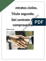 Contratos civiles.- Gu°a r†pida del C¢digo Civil del D.F (Del contrato de compraventa) primera parte.