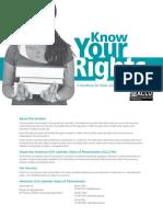 Students Rights Handbook 2017 Update