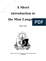 Introduction to the Mon Language