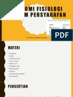 Anatomi Fisiologi System Persyarafan