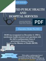 Reorganization of DOH