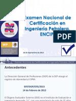 Examen Certificacion Nacional