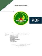Makalah Ideologi Pancasila