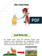 Training Firefighting