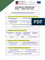 Recursos de información e orientación académica