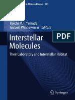 Yamada Winnewiser Interstellar Molecules