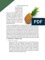 Tecno Frutas y Hortaliza - Taller