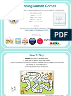 Free Beginning Sounds Board Games