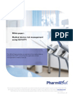 White Paper Medical Device Risk Management Using Iso 14971