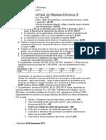 Examen Final Maquinas Electricas IIrecuperacion