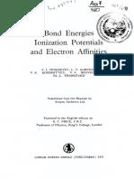 Bond Energies