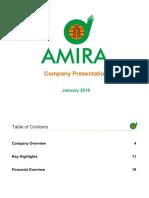Amira Company Presentation