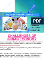 Challenge of Indian economy