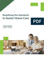 Healthabove60 eNewsletter Q1   Redefining the Standards in Senior Home Care