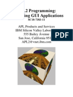 APL2 Programming Developing GUI Applications