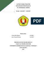 OPTIMASI VOLUME REAKTOR PRE-NEUTRALIZER TANK (26R-303) DENGAN PENDEKATAN MENGGUNAKAN REAKTOR  JENIS RATB DAN RAP