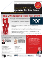 849-10 - Risk Management for law firms