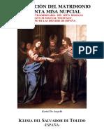 Ritus matrimonii et missa pro sponso et sponsa // Ritual del Matrimonio y misa por los esposos