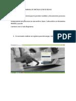 Manual de Usuario de Instalación de BIZAGI