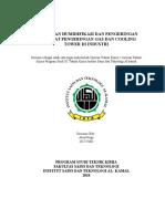Makalah OTK 2 Penerapan Alat Dehumidifikasi Dan Pengeringan Pada Industri