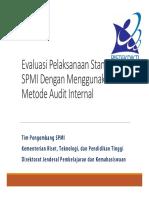 Pengembangan SPMI 03 Evaluasi Melalui AMI1