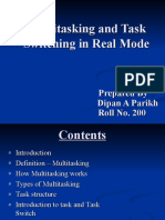 9232686 Multitasking and Task Switching in Real Mode