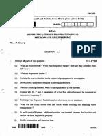 Microwave Engineering (Eec603)(0)