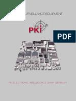 8 PKI Audio Surveillance Equipment Flyer 2015